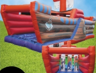 Pirate Ship Obstacle Course